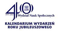 Kalendarium 40-lecia WNS