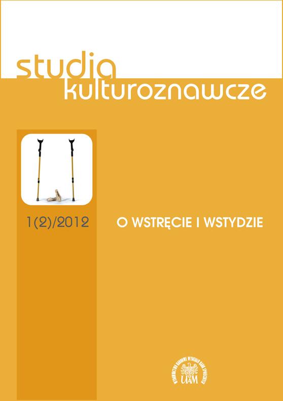 Studia kulturoznawcze 1/2012