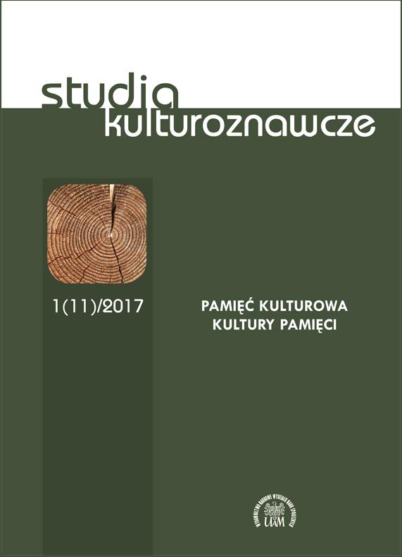 Studia Kulturoznawcze 1(11)/2017