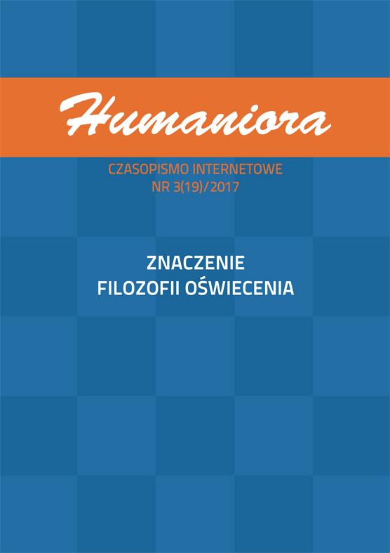 Humaniora. Czasopismo Internetowe 3(19)/2017