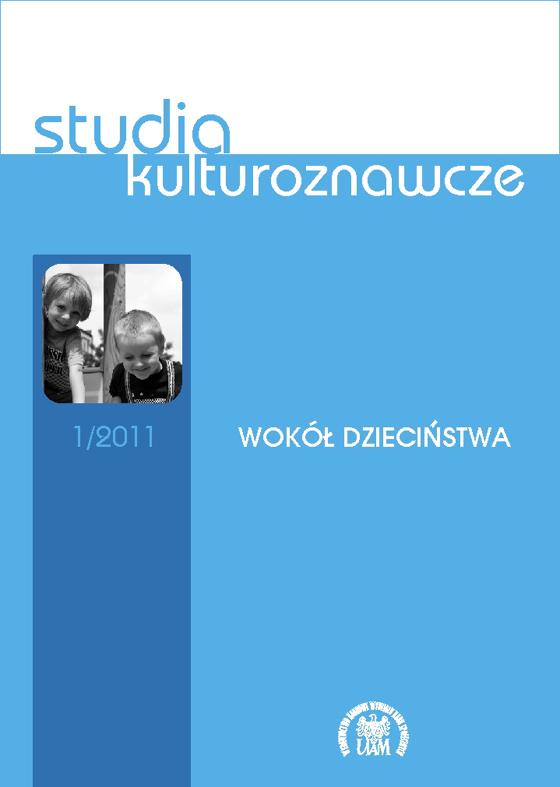Studia kulturoznawcze 1/2011