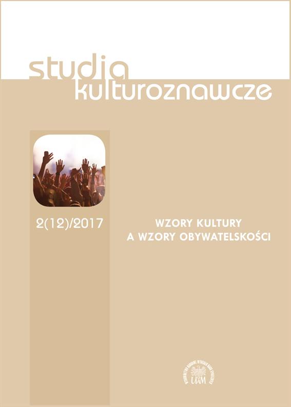 Studia Kulturoznawcze 2(12)/2017