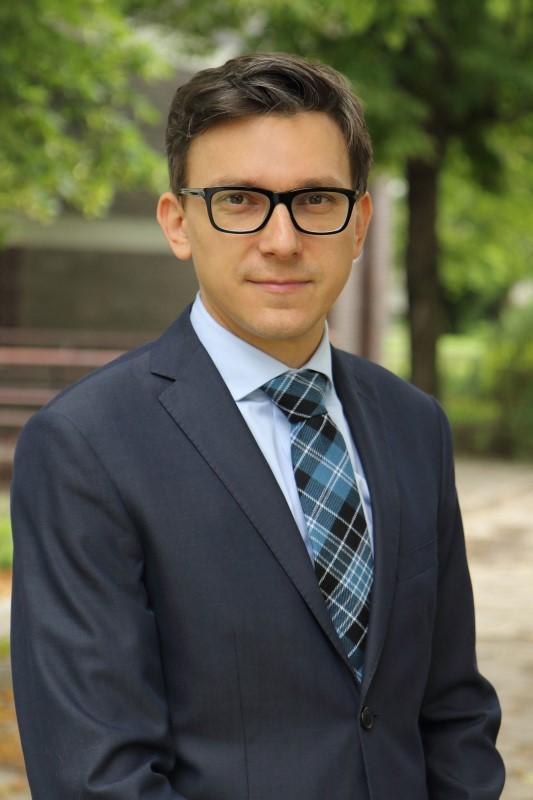 Prodziekan dr Marcin Poprawski